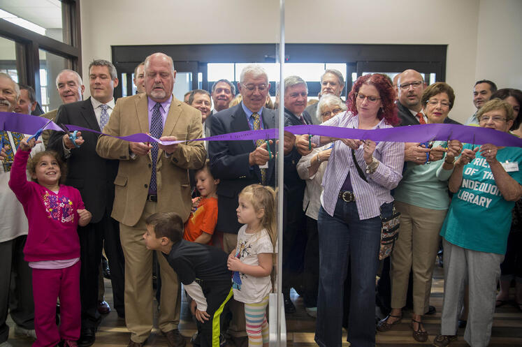 Grand Opening Irondequoit Public Library Tipping Point Communications